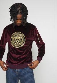 Glorious Gangsta - KONGO - Sweater - burgundy - 3
