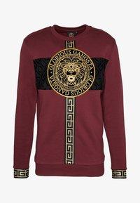 Glorious Gangsta - GLORIOUS GANGSTA DRACO - Sweatshirt - burgundy - 3
