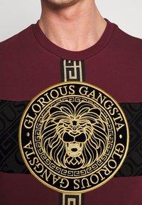 Glorious Gangsta - GLORIOUS GANGSTA DRACO - Sweatshirt - burgundy - 4