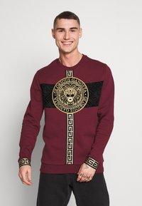 Glorious Gangsta - GLORIOUS GANGSTA DRACO - Sweatshirt - burgundy - 0