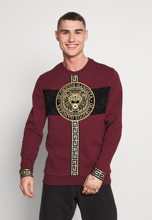 GLORIOUS GANGSTA DRACO - Sweatshirt - burgundy