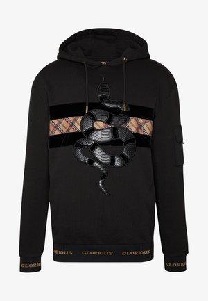 LEXUS HOODIE - Bluza z kapturem - black