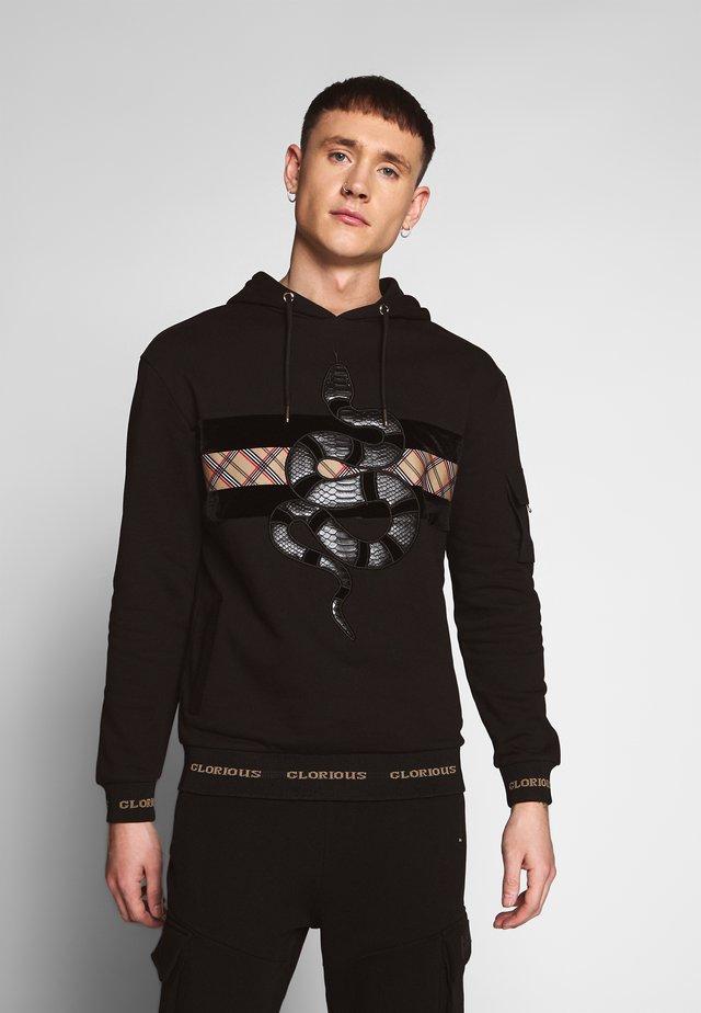 LEXUS HOODIE - Jersey con capucha - black