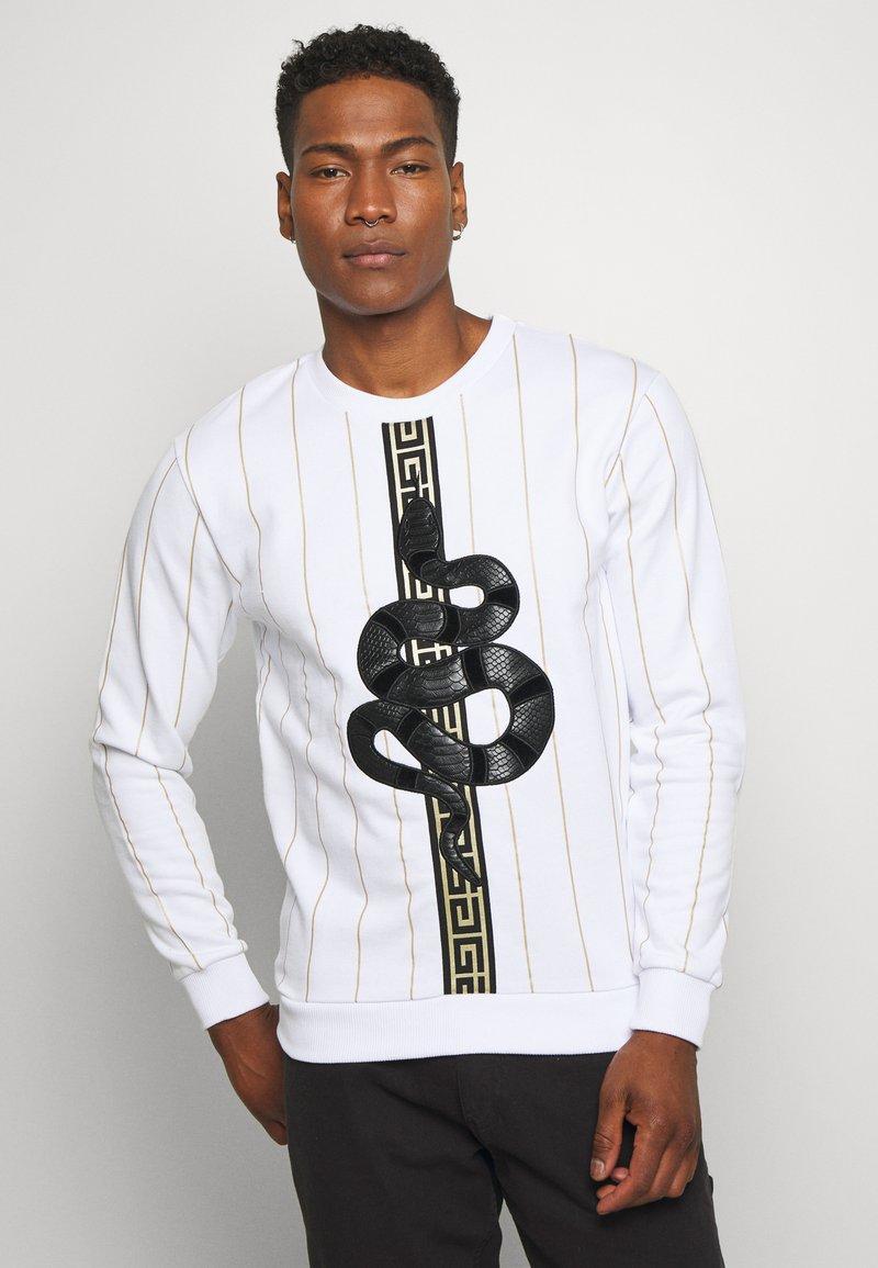 Glorious Gangsta - LUCHESSE - Sweater - white