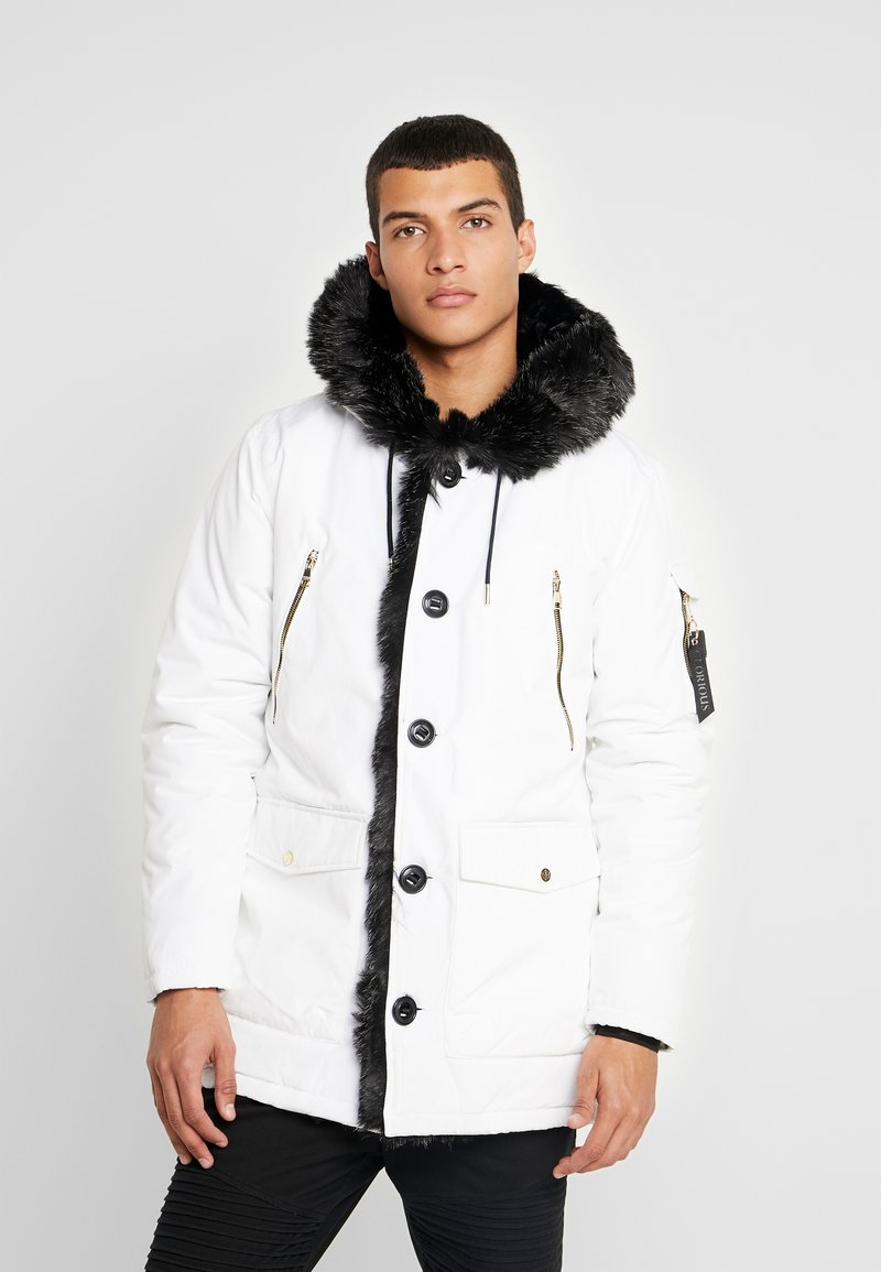 Glorious Gangsta - PARKLEA - Winter coat - white