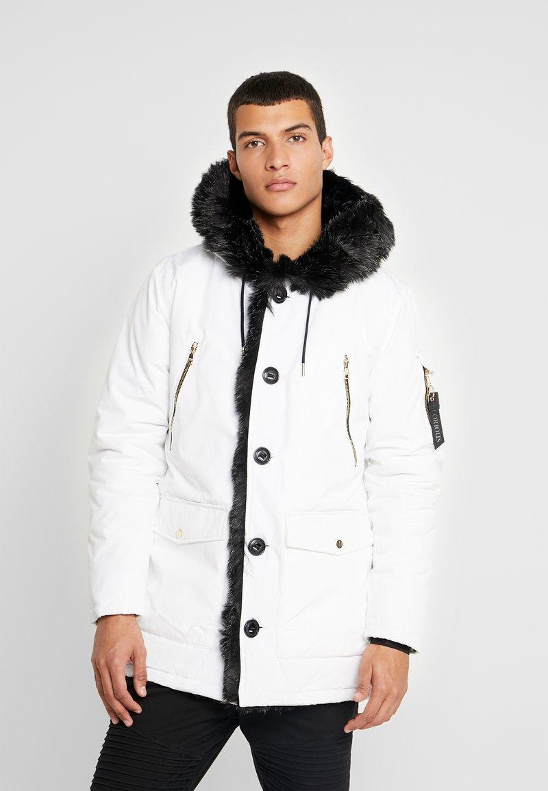 Glorious Gangsta - PARKLEA - Abrigo de invierno - white