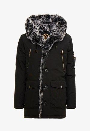 PARKLEA - Zimní kabát - black