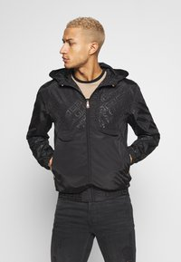 Glorious Gangsta - ELIGIO WINDRUNNER - Summer jacket - black - 0