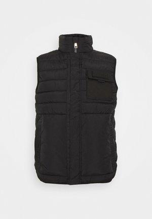 DARIO GILLET - Vest - black