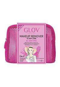 Glov - TRAVEL SET - Skincare set - pink - 1
