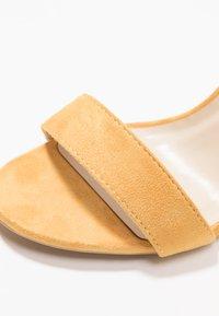 Glamorous Wide Fit - Sandály na vysokém podpatku - mustard - 2