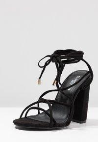 Glamorous Wide Fit - Sandales à talons hauts - black - 4