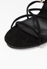 Glamorous Wide Fit - Sandales à talons hauts - black - 2