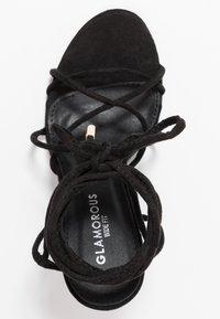 Glamorous Wide Fit - Sandales à talons hauts - black - 3