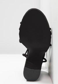 Glamorous Wide Fit - Sandales à talons hauts - black - 6