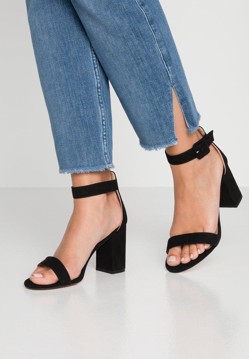 Glamorous Wide Fit - High heeled sandals - black