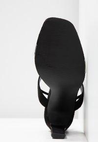 Glamorous Wide Fit - Sandály na vysokém podpatku - black - 6