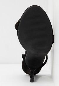 Glamorous Wide Fit - Sandali con tacco - black - 6