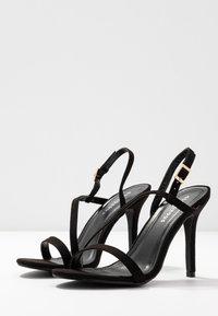 Glamorous Wide Fit - Sandali con tacco - black - 4