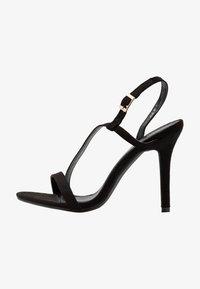 Glamorous Wide Fit - Korolliset sandaalit - black - 1