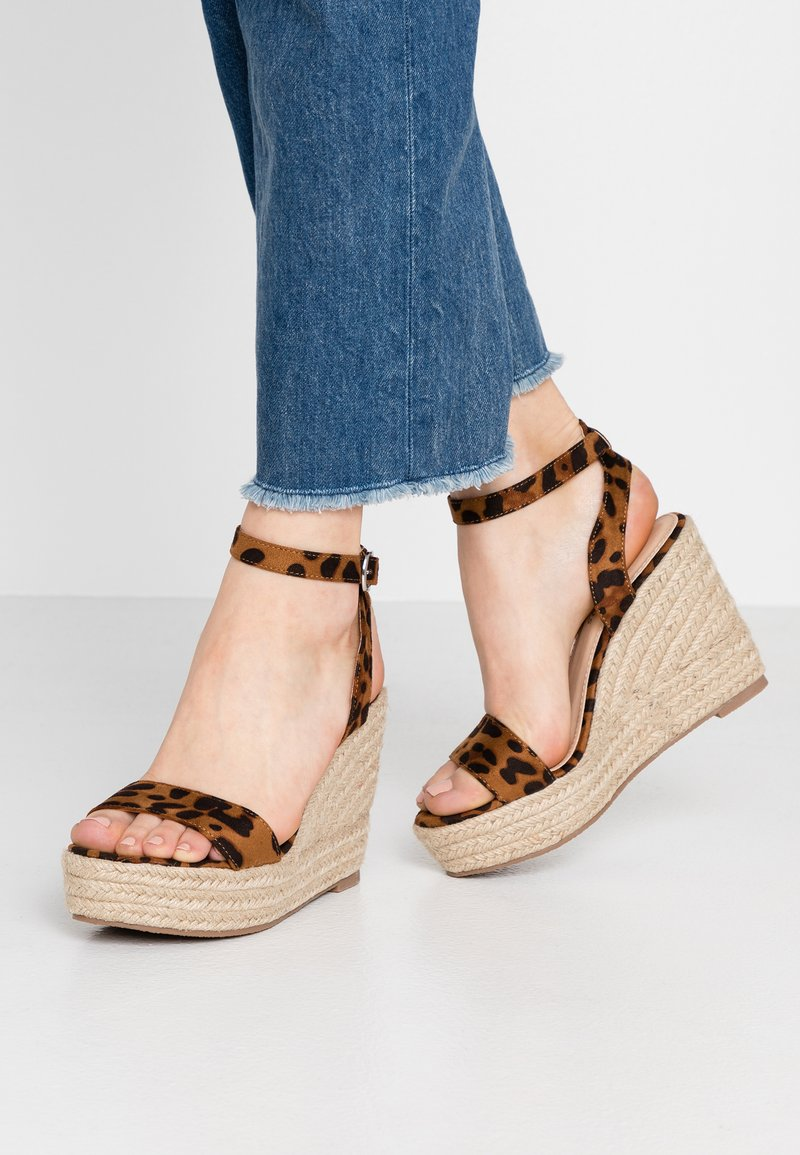 Glamorous Wide Fit - High heeled sandals - brown