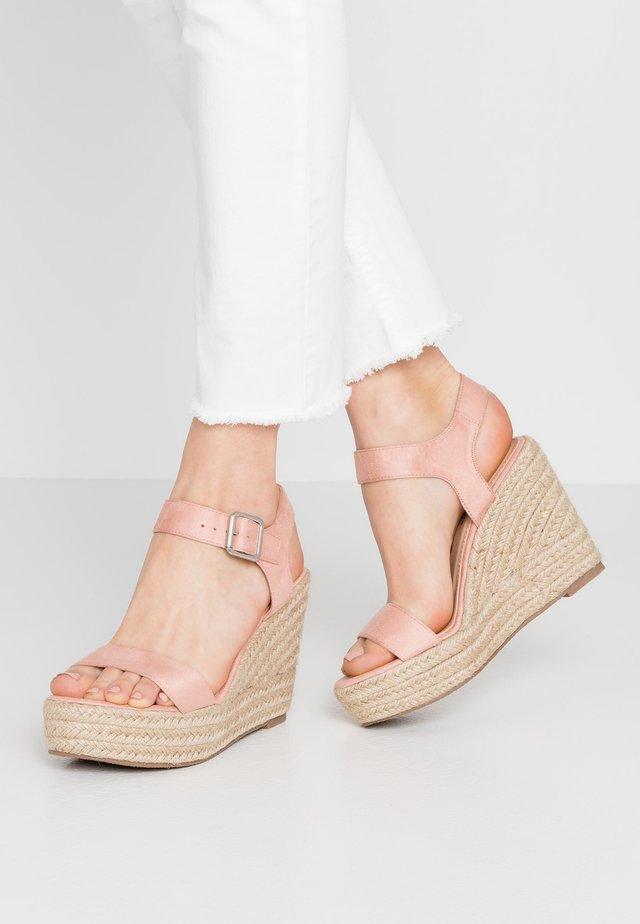High Heel Sandalette - pink