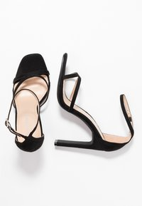 Glamorous Wide Fit - Sandály na vysokém podpatku - black - 3