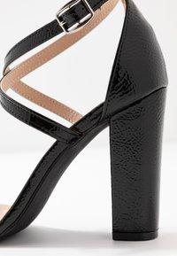 Glamorous Wide Fit - Sandály na vysokém podpatku - black - 2