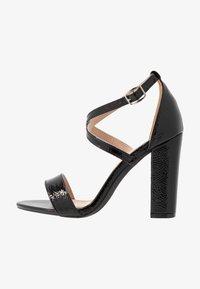 Glamorous Wide Fit - Sandály na vysokém podpatku - black - 1