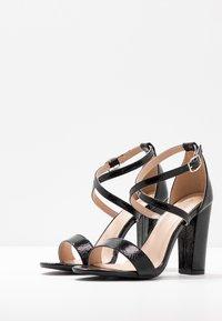 Glamorous Wide Fit - Sandály na vysokém podpatku - black - 4