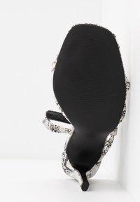 Glamorous Wide Fit - Sandales à talons hauts - grey - 6