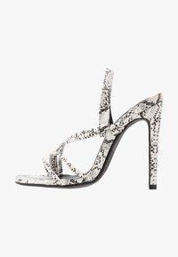 Glamorous Wide Fit - Sandales à talons hauts - grey - 1