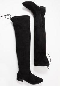 Glamorous Wide Fit - Kozačky nad kolena - black - 3