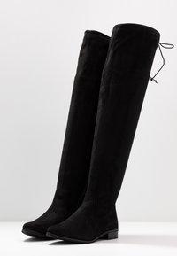 Glamorous Wide Fit - Kozačky nad kolena - black - 4