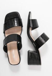 Glamorous Wide Fit - Slip-ins med klack - black - 3