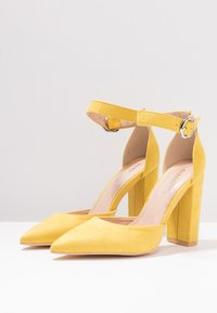 Glamorous Wide Fit - High heels - yellow - 4