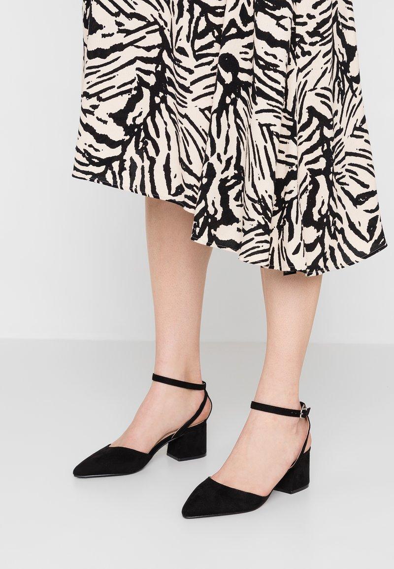 Glamorous Wide Fit - Tacones - black