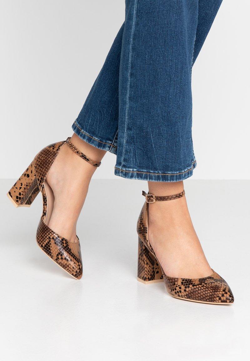 Glamorous Wide Fit - High heels - brown