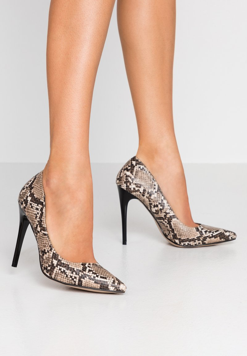 Glamorous Wide Fit - High heels - grey