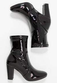 Glamorous Wide Fit - Støvletter - black - 3
