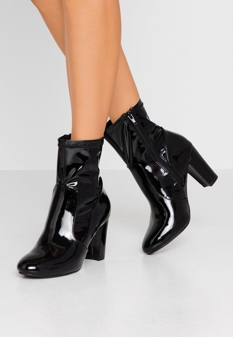 Glamorous Wide Fit - Kotníkové boty - black