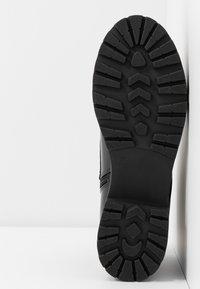 Glamorous Wide Fit - Platåstøvletter - black - 6