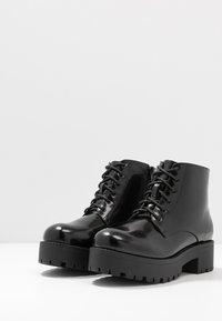 Glamorous Wide Fit - Platåstøvletter - black - 4