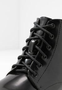Glamorous Wide Fit - Platåstøvletter - black - 3