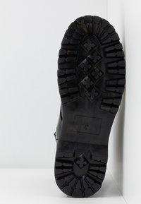 Glamorous Wide Fit - Kotníkové boty na platformě - black - 6