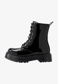 Glamorous Wide Fit - Kotníkové boty na platformě - black - 1