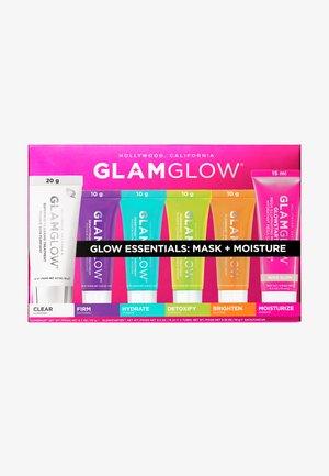 MULTIMASKIN SET GLOW ESSENTIALS: MASK + MOISTURE - Skincare set - -