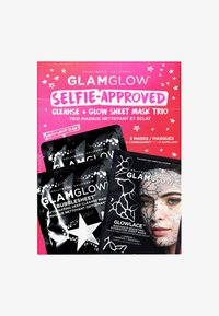 Glamglow - SELFIE-APPROVED: CLEANSE - SHEET MASK TRIO - Skincare set - - - 0