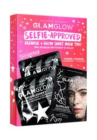 Glamglow - SELFIE-APPROVED: CLEANSE - SHEET MASK TRIO - Skincare set - - - 1