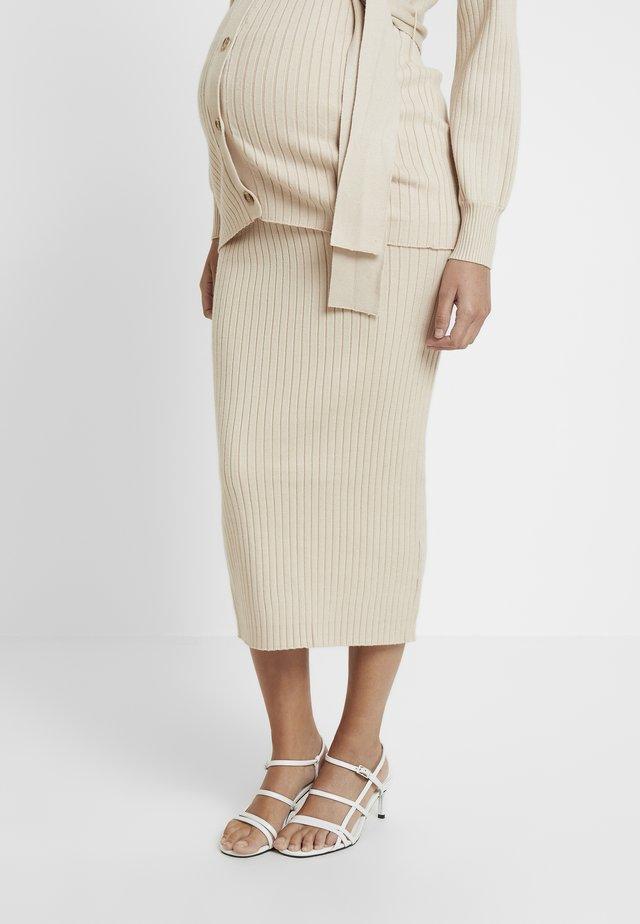 SKIRTS - Pencil skirt - stone